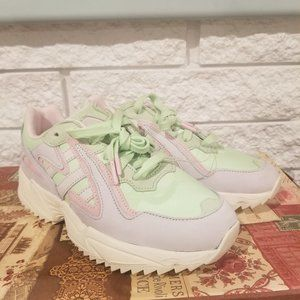 Adidas Men's Pastel Colored Chunky Sneakers Sz 6